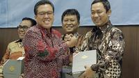Wali Kota Semarang Hendrar Prihadi menerima Laporan