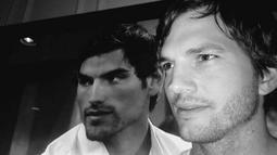 Ashton Kutcher mengatakan bahwa suaminya, Ashton Kutcher, mirip dengan Jared Haibon. Bagaimana menurutmu? (twitter/aplusk/AceShowbiz)