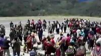 Kericuhan di Intan Jaya, Papua pecah saat rapat pleno rekapitulasi penghitungan suara. Kericuhan membesar dan meluas kerusuhan.