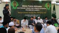 NU dan Muhammadiyah serta ormas lainnya berkumpul untuk berkomitmen menjaga NKRI pascapemilu 2019. (Istimewa)