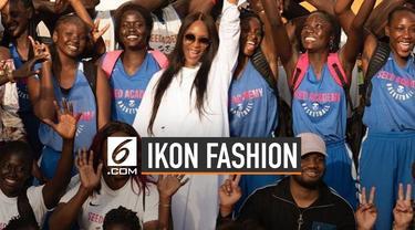 Inspiratif, Naomi Campbell Jadi Ikon Fashion Award 2019