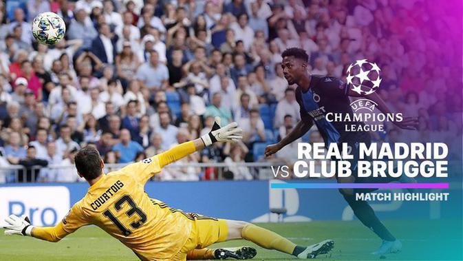 VIDEO: Highlights Liga Champions, Real Madrid Vs Club ...