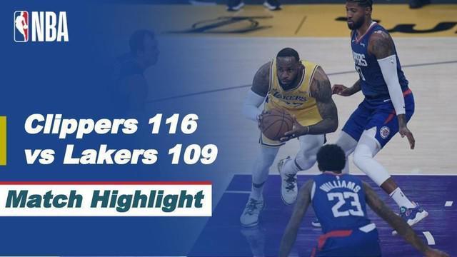 Berita video, LA Lakers kalah dari LA Clippers di laga pembuka NBA 2020/2021