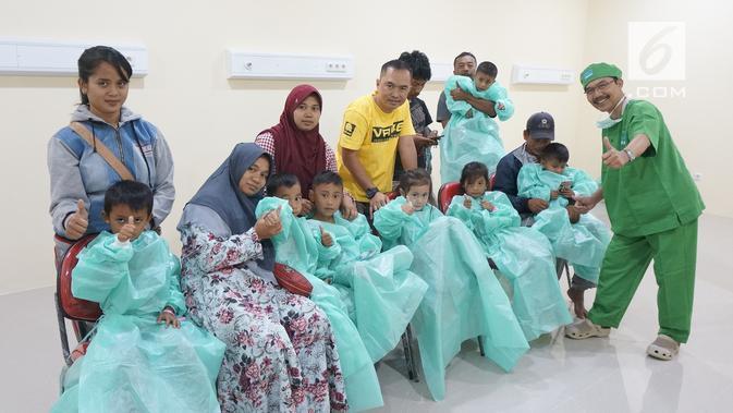 Yayasan Karya Alfa Omega melaksanakan operasi hernia. Dok: Yayasan Karya Alfa Omega