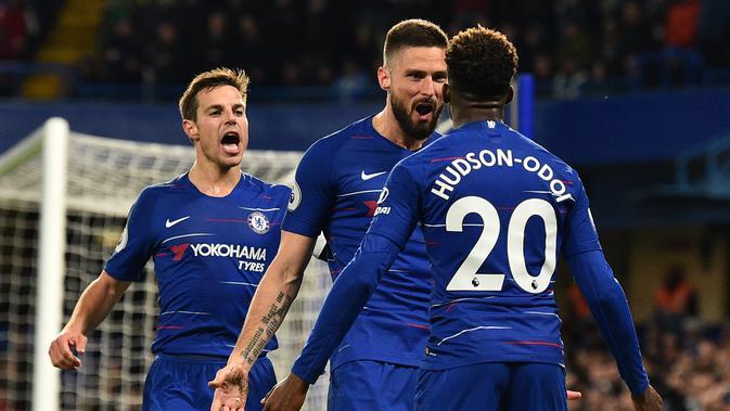 Maurizio Sarri Soroti Performa Bintang Muda Chelsea dalam Laga Lawan Brighton - Inggris Bola.com