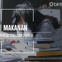 Makanan pereda stres dan depresi. (Foto: Adrian Putra, Digital Imaging: Nurman Abdul Hakim/Bintang.com)