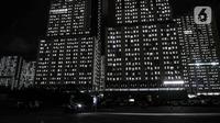 Suasana tower tempat isolasi pasien COVID-19 di Rumah Sakit Darurat (RSD) Wisma Atlet Kemayoran, Jakarta, Selasa (19/1/2021). Menipisnya tempat tidur isolasi dan ICU di rumah sakit rujukan COVID-19 akibat melonjaknya kasus positif pascalibur panjang. (merdeka.com/Iqbal S. Nugroho)