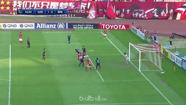 Buriram sukses menahan imbang tuan rumah Guangzhou Evergrande dengan skor 1-1 dalam pertandingan pembukaan pertandingan Liga Champ...