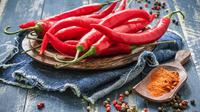 Makanan pedas (cabai, paprika, lada) (sumber: iStockphoto)