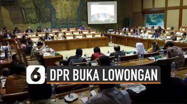 Sekjen dan Badan Keahlian DPR RI membuka lowongan pekerjaan. Posisi Tenaga Ahli Alat Kelengkapan Dewan (AKD) DPR RI di Lingkungan DPR.
