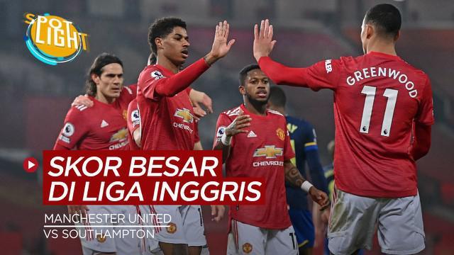 Berita video spotlight kali ini akan membahas kemenangan dengan skor terbesar di Premier League dalam 1 dekade terakhir, terbaru adalah Manchester United yang menggulung Southampton.