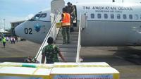 340 kilogram rendang dikirim dari Kota Padang, Sumatera Barat untuk membantu korban gempa Mamuju Provinsi Sulawesi Barat pada Rabu 27 Januari 2021. (Dok Diskominfo Kota Padang)