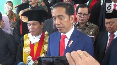 Presiden Jokowi memastikan, bahwa penyelenggaraan acara bertaraf internasional ini mampu menguntungkan Indonesia.