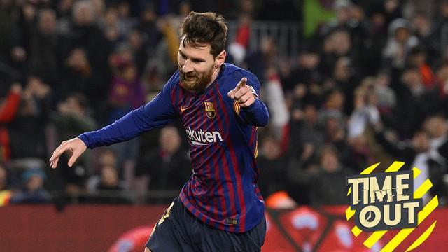 Berita video tentang Time Out yang membahas tentang para pemain sayap dengan nilai pasar tertinggi di dunia, termasuk Lionel Messi.