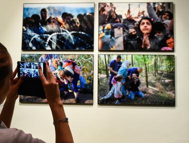Melihat Pameran Fotografi Imigran di di Brussels