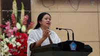 Menteri Koordinator bidang Pembangunan Manusia dan Kebudayaan (Menko PMK) Puan Maharani
