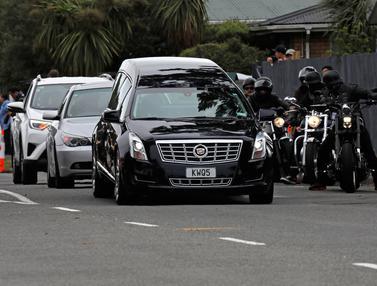 Pemakamanan Korban Penembakan Selandia Baru