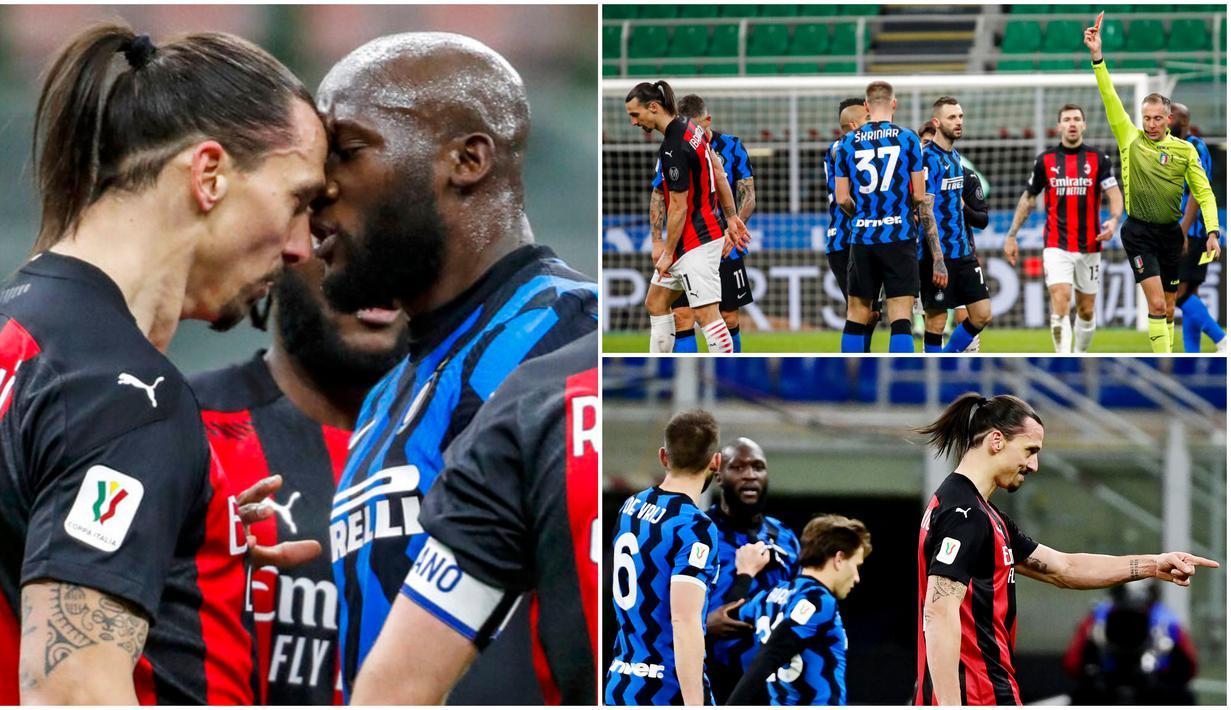 Laga tensi tinggi tersaji pada laga bertajuk Derby della Madonnina pada perempat final Coppa Italia 2020/2021. Salah satu momen yang paling panas adalah keributan hebat yang membuat Romelu Lukaku marah besar hingga Zlatan Ibrahimovic dikartu merah.