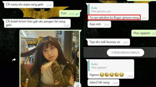 Iseng Kenalan Dengan Wanita Cantik Lewat Whatsapp Ternyata