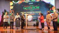 Menteri Pariwisata Arief Yahya baru saja membuka acara Dialog Gastronomi Nasional ke-2 dan Promosi Kuliner Wakatobi yang digelar di Balairung Soesilo Soedarman, Gedung Sapta Pesona, Rabu (29/3/2017). Foto: Kementerian Pariwisata.