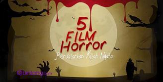Lima film horor ini bikin bulu kuduk merinding, tak banyak yang tahu jika film-filmm tersebut diangkat dari kisah nyata. Apa saja film-film tersebut? Bintang.com rangkumkan untuk anda.