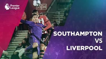 Berita video statistik Southampton vs Liverpool pada laga pekan ke-33 Premier League 2018-2019, Sabtu (6/4/2019).
