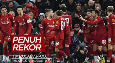 Berita video Liverpool dengan tim mudanya meraih kemenangan pada babak keempat Piala FA 2019-2020. Kemenangan tersebut menorehkan banyak rekor.