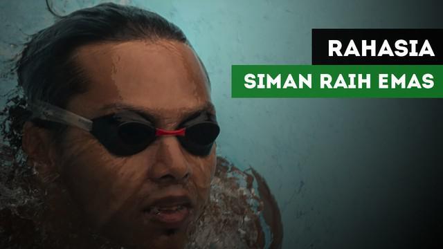 Perenang Indonesia, Siman Sudartawa mengungkapkan rahasia dirinya bisa meraih emas di SEA Games 2017.