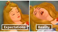 Putri Disney Sehari-hari (Sumber: Boredpanda)