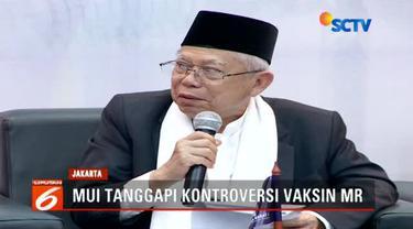 Setelah menjadi kontroversi, Majelis Ulama Indonesia memastikan bahwa imunisasi measles rubella atau MR boleh dilakukan.