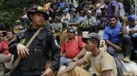 Para penambang di Nikaragua. (CNN)