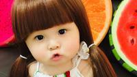 Baby Belle Zhou menggemaskan (dok. instagram @babybellezhou/ https://www.instagram.com/p/BtLWHxsnWGS/ Adinda Kurnia)