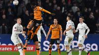 Chelsea menang 2-1 atas Hull City pada laga babak keempat Piala FA di KCOM Stadium, Sabtu (25/1/2020) sore waktu setempat. (AFP/Paul Ellis)