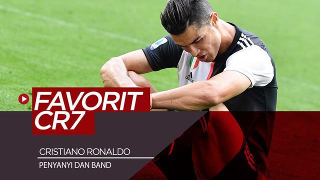 Berita video para penyanyi dan band yang menjadi favorit mega bintang Juventus asal Portugal, Cristiano Ronaldo.