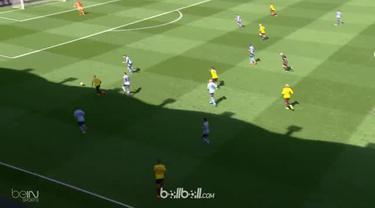 Watford menang tipis 2-1 atas Newcastle United dalam pertandingan lanjutan Liga Inggris pekan ke-37, Sabtu (5/5). Roberto Pereyra ...