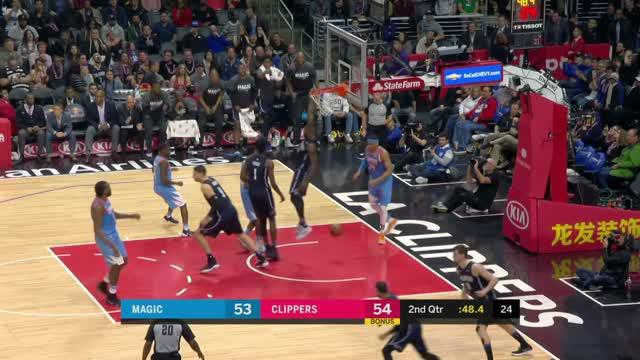 Berita video game recap NBA 2017-2018 antara LA Clippers melawan Orlando Magic dengan skor 113-105.