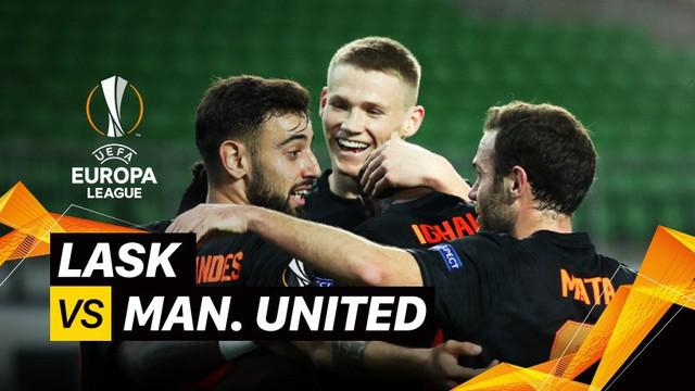 Berita video menyambut Liga Europa 2019-2020 yang akan bergulir kembali, mari kita melihat laga leg I babak 16 besar antara LASK melawan Manchester United digelar pada 12 Maret 2020.