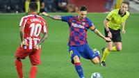 Striker Barcelona, Lionel Messi (LLUIS GENE / AFP)