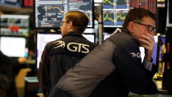 Wall Street Beragam, Investor Menanti Laporan Laba Perusahaan Besar
