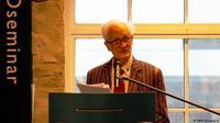 Romo Magnis dalam sebuah seminar di Oslo, Norwegia. (Dokumentasi KBRI Norwegia)