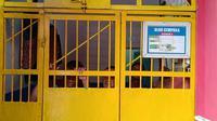 kondisi rumah tahanan Kelas IIA Kendari, usai 29 napi positif Covid-19.(Liputan6.com/Ahmad Akbar Fua)