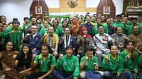 Menteri Pemuda dan Olah Raga (Menpora) Zainudin Amali, bertekad untuk lebih banyak mendengar dan menerima masukan dari para insan olahraga (foto:putra/kemenpora.go.id).
