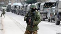 Militer Ukraina dalam status siaga penuh.