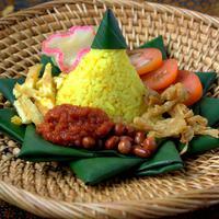 ilustrasi nasi kuning/copyright Shutterstock