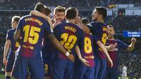3. Barcelona - Pendapatan 648,3 juta euro (Rp10,5 triliun). (AFP/Curto De La Torre)