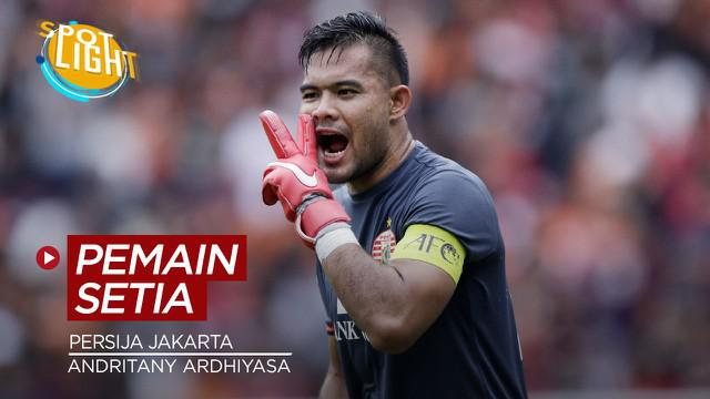 Berita video spotlight kali ini membahas tentang pemain Persija Jakarta paling loyal saat ini, salah satunya Andritany Ardhiyasa.