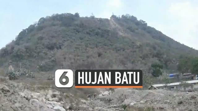 Penyebab hujan batu raksasa di desa Cihandeleum Purwakarta hari Selasa (8/10/19) akhirnya terjawab. Insiden ini dipicu aktivitas perusahaan tambang batu di kawasan gunung.