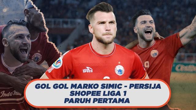 Berita Video Deretan Gol Terbaik Ala Marko Simic di Paruh Pertama Shopee Liga 1 2019