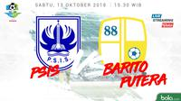 Liga 1 2018 PSIS Semarang Vs Barito Putera (Bola.com/Adreanus Titus)