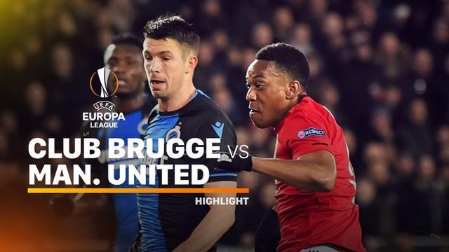 Berita video highlights leg I babak 32 Besar Liga Europa 2019-2020, Club Brugge vs Manchester United, yang berakhir dengan skor 1-1, Kamis (20/2/2020).
